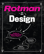 Rotman on design : the best on design thinking from Rotman magazine