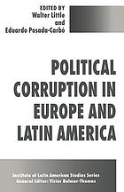 Political corruption in Europe and Latin America