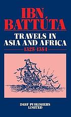 Ibn Battúta : travels in Asia and Africa : 1325-1354