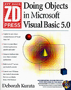 Doing objects in Microsoft Visual Basic 5.0