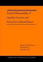 Frechet Differentiability of Lipschitz Functions and Porous Sets in Banach Spaces