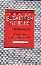Selected Subaltern studies
