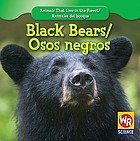 Black bears = Osos negros