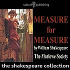 Measure for measure.