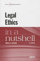Legal ethics in a nutshell