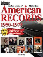 Goldmine standard catalog of American records, 1950-1975