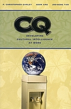 Cultural intelligence : individual interactions across cultures
