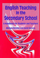 English teaching in the secondary school : a handbook for students and teachers
