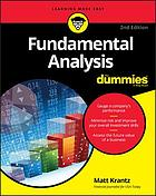 Fundamental Analysis for Dummies.