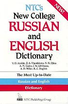 NTC's new college Russian and English dictionary