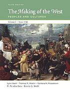The making of the West : peoples and cultures