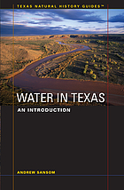 Water in Texas : an introduction