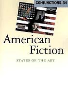American fiction : states of the art