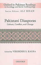 Pakistani diasporas : culture, conflict, and change