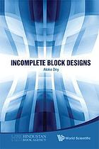 Incomplete block designs