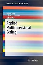 Applied multidimensional scaling