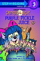 Purple pickle juice