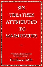 Six treatises attributed to Maimonides