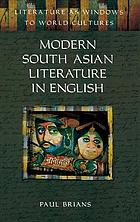 Modern South Asian literature in English