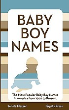 Popular baby boy names in the United States