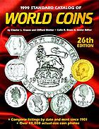 Standard catalog of world coins, 1999
