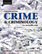 Crime & criminology : an introduction