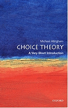 Choice theory : a very short introduction