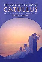 The complete poetry of Catullus