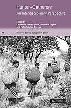 Hunter-Gatherers: An Interdisciplinary Perspective cover image