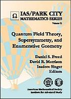Quantum field theory, supersymmetry, and enumerative geometry
