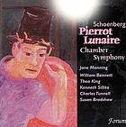 Pierrot lunaire Chamber symphony