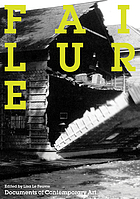 Failure : documents of contemporary art