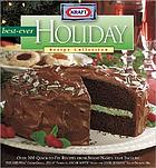 Kraft best-ever holiday recipe collection.