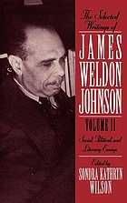 The selected writings of James Weldon Johnson