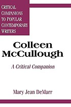 Colleen McCullough : a critical companion