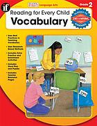 Reading for every child : vocabulary, grade 2