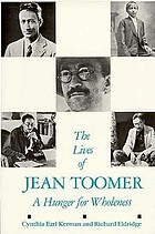 The lives of Jean Toomer : a hunger for wholeness