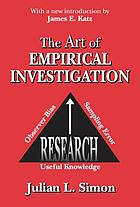 The Art of Empirical Investigation.