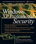 Windows XP Professional security