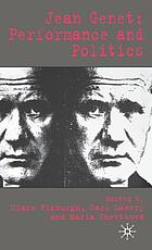 Jean Genet : performance and politics