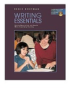 Writing essentials : raising expectations and results while simplifying teaching