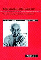 Nikki Giovanni in the classroom :