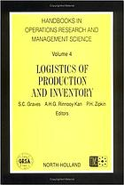 Logistics of production and inventory