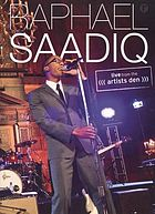 Raphael Saadiq : live from the Artists Den
