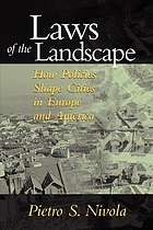 Laws of the landscape : how policies shape cities in Europe and America
