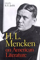 H.L. Mencken on American literature