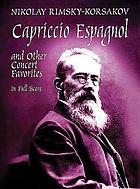 Capriccio espagnol : and other concert favorites