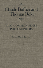 Claude Buffier and Thomas Reid, two common sense philosophers