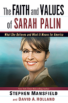 The faith and values of Sarah Palin