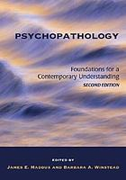 Psychopathology : foundations for a contemporary understanding